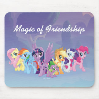 My Little Pony | Mane Six in Equestria Mouse Pad