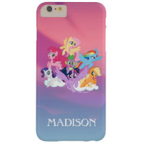 My Little Pony | Mane Six on Clouds Barely There iPhone 6 Plus Case
