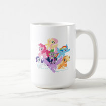 My Little Pony | Mane Six on Clouds Coffee Mug
