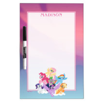 My Little Pony | Mane Six on Clouds Dry Erase Board