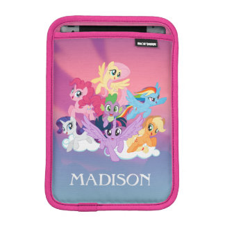 My Little Pony | Mane Six on Clouds iPad Mini Sleeve