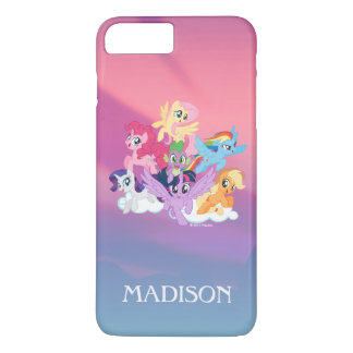 My Little Pony | Mane Six on Clouds iPhone 7 Plus Case