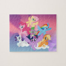My Little Pony | Mane Six on Clouds Jigsaw Puzzle