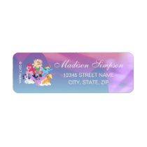 My Little Pony | Mane Six on Clouds Label
