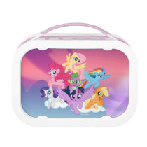 My Little Pony | Mane Six on Clouds Lunch Box