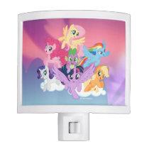 My Little Pony | Mane Six on Clouds Night Light