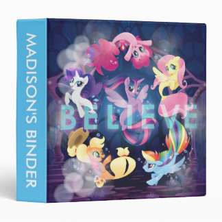 My Little Pony | Mane Six Seaponies - Believe 3 Ring Binder