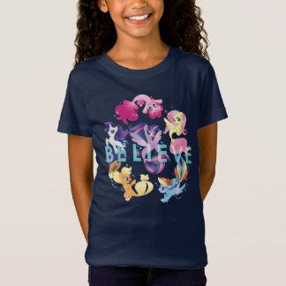 My Little Pony | Mane Six Seaponies - Believe T-Shirt