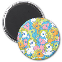 My Little Pony | Pastel Pattern Magnet