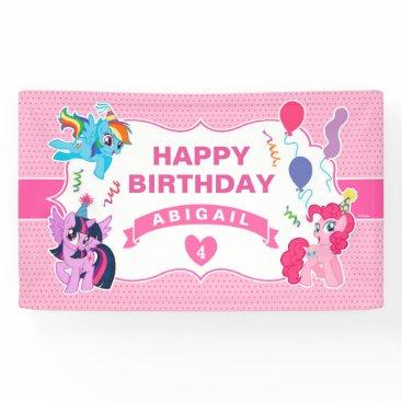mylittlepony My Little Pony   Pink Birthday Banner