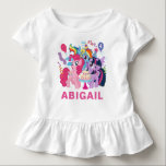 """My Little Pony   Pink Birthday Toddler T-shirt<br><div class=""""desc"""">Happy Birthday from My Little Pony.  Personalize this Birthday shirt by adding your name and age.</div>"""