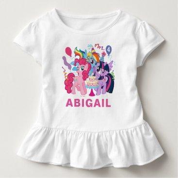 mylittlepony My Little Pony   Pink Birthday Toddler T-shirt