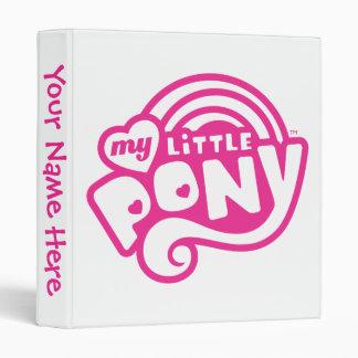 My Little Pony Pink Logo 3 Ring Binder