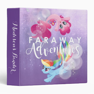 My Little Pony   Pinkie and Rainbow - Adventures 3 Ring Binder