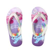My Little Pony   Pinkie and Rainbow - Adventures Kid's Flip Flops