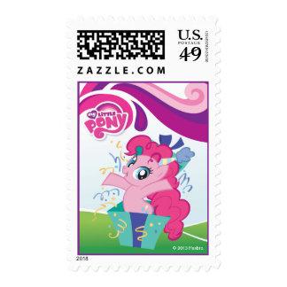 My Little Pony Pinkie Pie Birthday Stamp