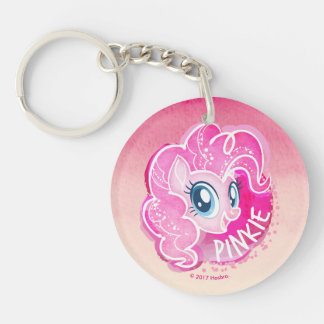 My Little Pony | Pinkie Pie Watercolor Keychain