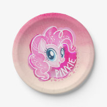 My Little Pony | Pinkie Pie Watercolor Paper Plate