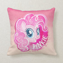 My Little Pony | Pinkie Pie Watercolor Throw Pillow
