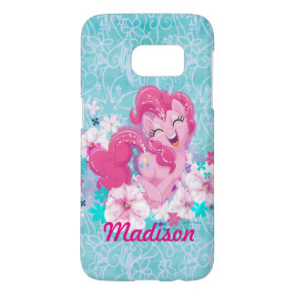 My Little Pony | Pinkie Running Through Flowers Samsung Galaxy S7 Case