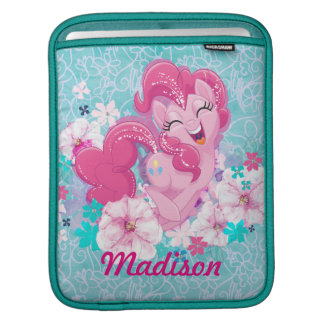 My Little Pony | Pinkie Running Through Flowers Sleeve For iPads