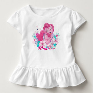 My Little Pony | Pinkie Running Through Flowers Toddler T-shirt
