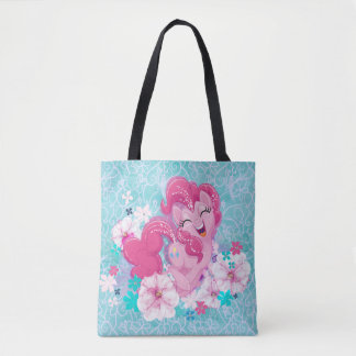 My Little Pony | Pinkie Running Through Flowers Tote Bag