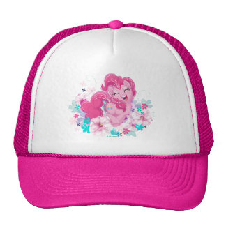 My Little Pony | Pinkie Running Through Flowers Trucker Hat