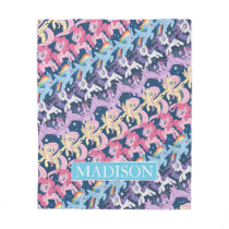 My Little Pony | Pony Rainbow Pattern Fleece Blanket