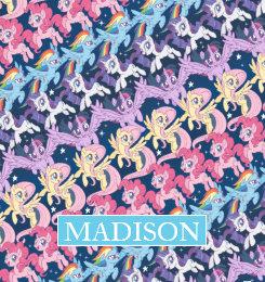 little pony throw fleece custom blankets zazzle