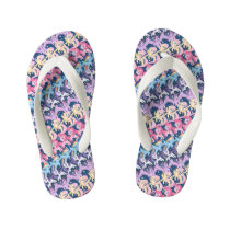 My Little Pony | Pony Rainbow Pattern Kid's Flip Flops