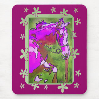 My Little Pony (Purple and Green) Mousepad
