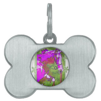 My Little Pony (Purple and Green) Pet ID Tag