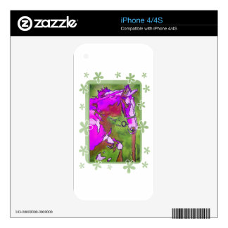 My Little Pony (Purple and Green) Decal For The iPhone 4