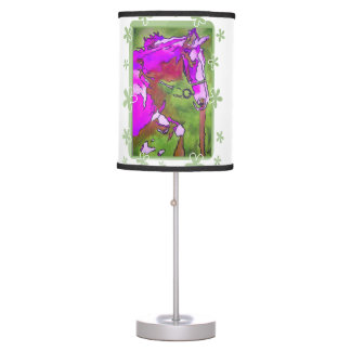 My Little Pony (Purple and Green) Table Lamp