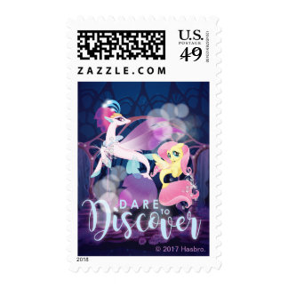 My Little Pony   Queen Novo and Fluttershy Postage