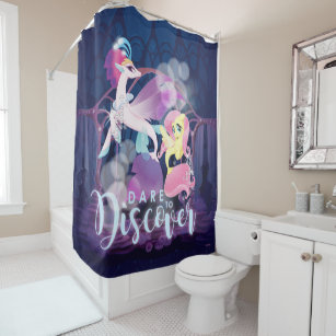 Fluttershy My Little Pony Shower Curtains