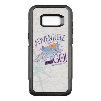 My Little Pony   Rainbow - Adventure Is Calling OtterBox Commuter Samsung Galaxy S8  Case
