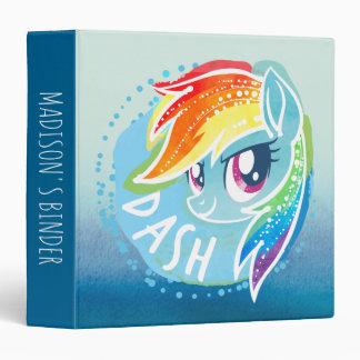 My Little Pony | Rainbow Dash Watercolor Binder