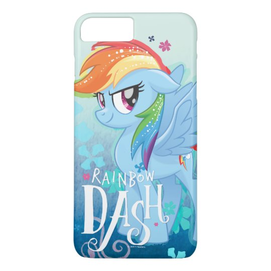 more photos e095a 85334 My Little Pony   Rainbow Dash Watercolor Flowers Case-Mate iPhone Case