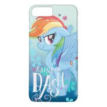 My Little Pony | Rainbow Dash Watercolor Flowers iPhone 8 Plus/7 Plus Case