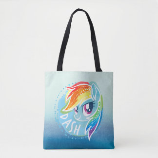 My Little Pony | Rainbow Dash Watercolor Tote Bag
