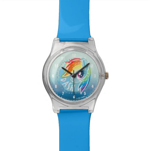 My Little Pony | Rainbow Dash Watercolor Watch