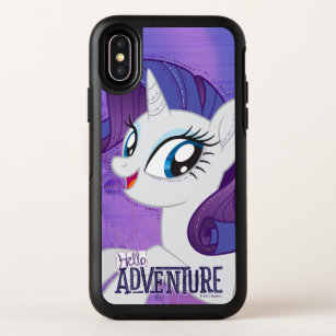 purchase cheap 6583f 06a04 My Little Pony | Rarity - Hello Adventure OtterBox Symmetry iPhone X Case