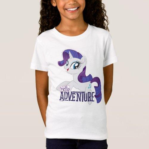 My Little Pony  Rarity _ Hello Adventure T_Shirt