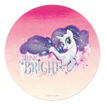 My Little Pony | Rarity - Shine Bright Classic Round Sticker