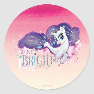My Little Pony | Rarity - Shine Bright Classic Round Sticker