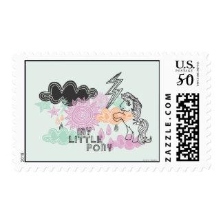 My Little Pony Retro Elements Design Postage