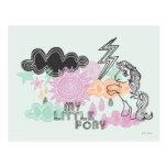 My Little Pony Retro Elements Design Postcard