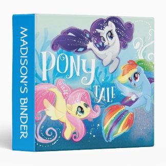 My Little Pony   Seaponies - Pony Tale Binder